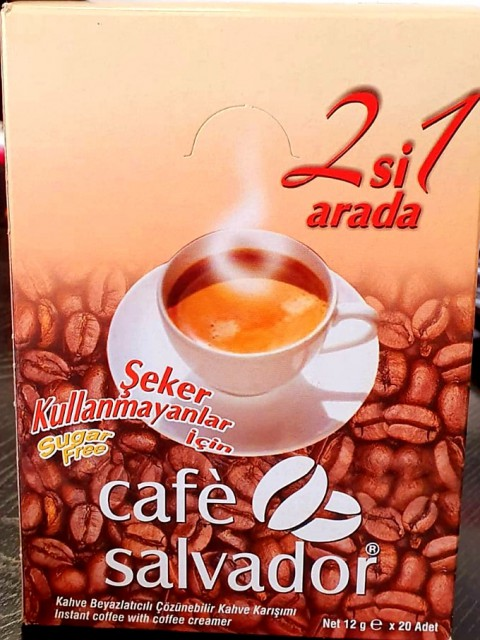CAFE SALVADOR 2 IN 1 20 Lİ