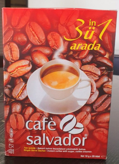CAFE SALVADOR 3 IN 1 20 Lİ