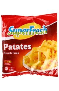 SUPERFRESH PATATES 1KG