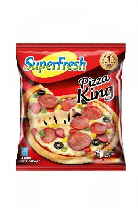 SUPERFRESH PİZZA KİNG 3LÜ