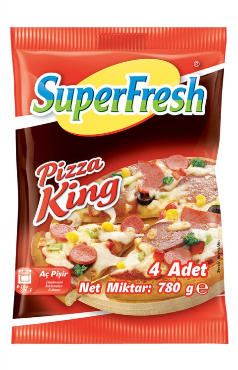 SUPERFRESH PİZZA KİNG 4LÜ