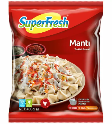 SUPERFRESH KAYSERİ MANTISI 400GR
